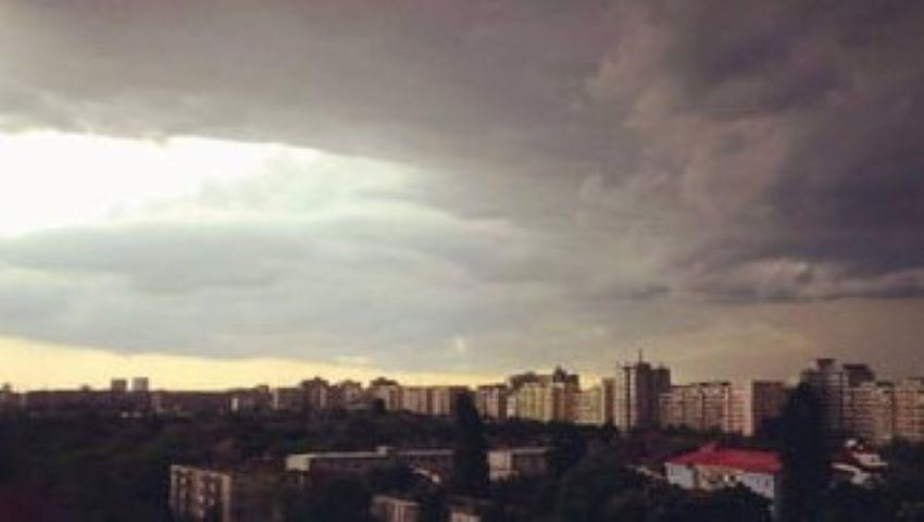 Foto: Alertă de furtună și ploi cu descărcări electrice!