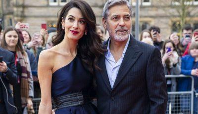 """Amal Clooney și-a făcut o intervenție estetică reușită. Imagini de tipul ,,înainte și după"""""""