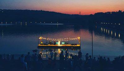 """Imagini de la Concertul pe apă, susținut în parcul ,,Valea Morilor"""""""