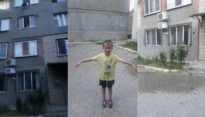 O bătrână a vărsat un lighean cu apă peste câțiva copii care se jucau în curtea unui bloc din Capitală