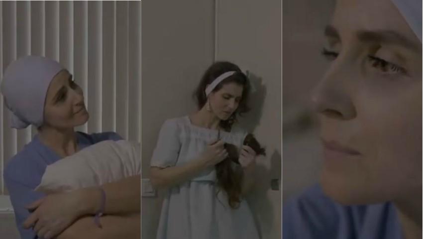 Foto: Emoționant! O interpretă de la noi a creat un videoclip dedicat persoanelor care luptă cu cancerul
