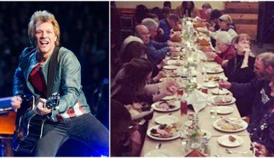Jon Bon Jovi a deschis două restaurante unde oamenii săraci pot mânca fără să plătească