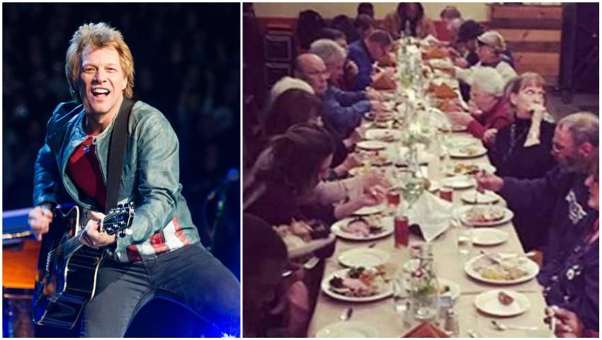 Foto: Jon Bon Jovi a deschis două restaurante unde oamenii săraci pot mânca fără să plătească
