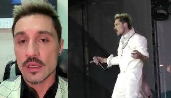 Video! Dima Bilan a urcat beat pe scenă la concertul din Samara. Artistul și-a cerut public scuze