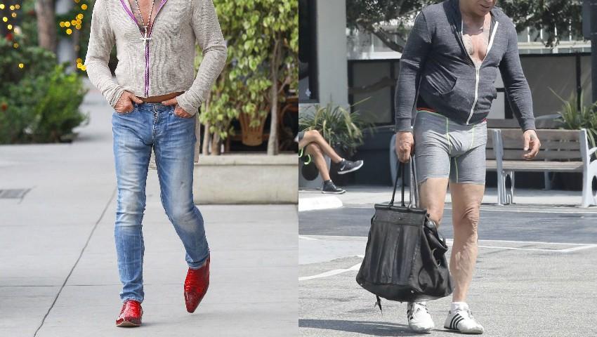 Foto: Are o avere de peste 15 milioane de dolari, dar a ieșit în chiloți pe stradă. Cine e actorul?