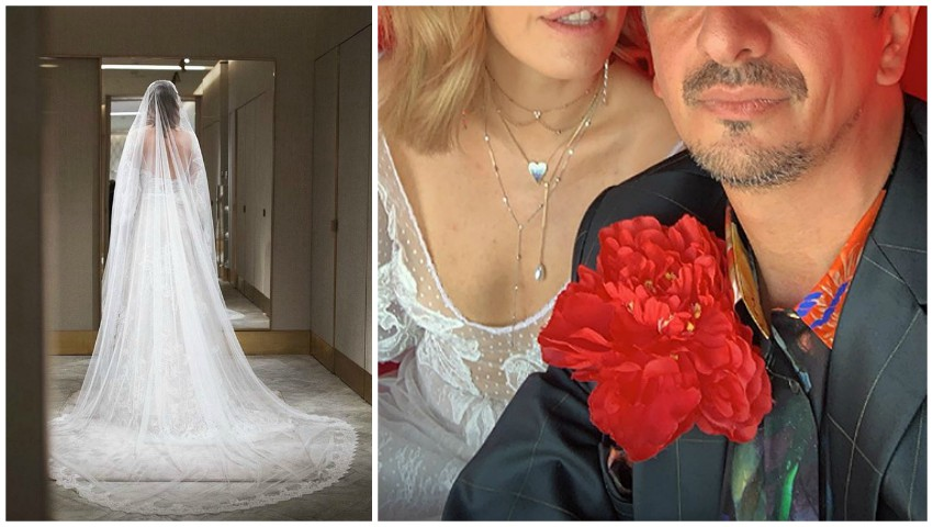 Foto: Xenia Sobchak se mărită astăzi cu regizorul Konstantin Bogomolov! Primele imagini cu mireasa