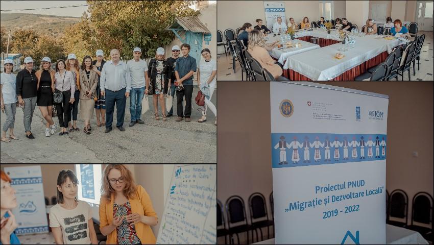 """Foto: Zilele Diasporei și forumurile economice organizate la nivel local schimbă vectorul dezvoltării comunitare, grație proiectului PNUD """"Migrație și dezvoltare locală"""""""