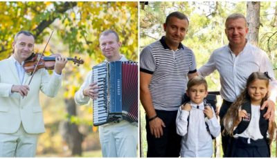 Dorul de muzică, transmis din generație în generație în familiile fraților Advahov!
