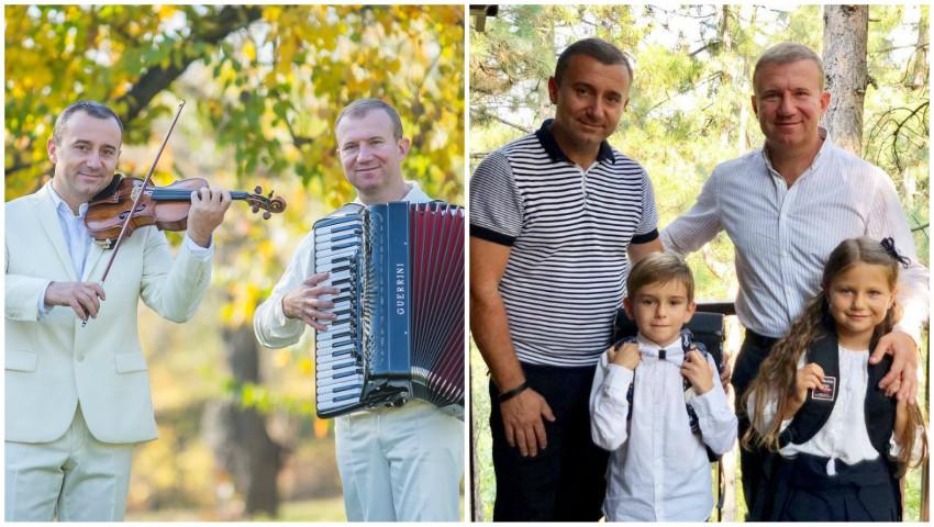 Foto: Dorul de muzică, transmis din generație în generație în familiile fraților Advahov!