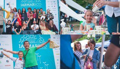 Circa 1.500 de oameni au petrecut timpul util la IarmarEco, evenimentul care promovează inițitivele ecologice!