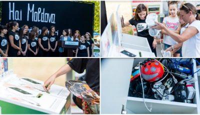 Peste 100 de kg de electronice uzate s-au strâns la lansarea campaniei naționale de colectare a deșeurilor electronice