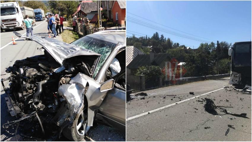 Foto: Un autocar cu moldoveni, implicat într-un grav accident în România: o persoană a decedat pe patul de spital