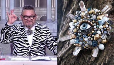 Celebrul prezentator din Rusia, Alexandr Vassiliev, poartă bijuteria unei moldovence!