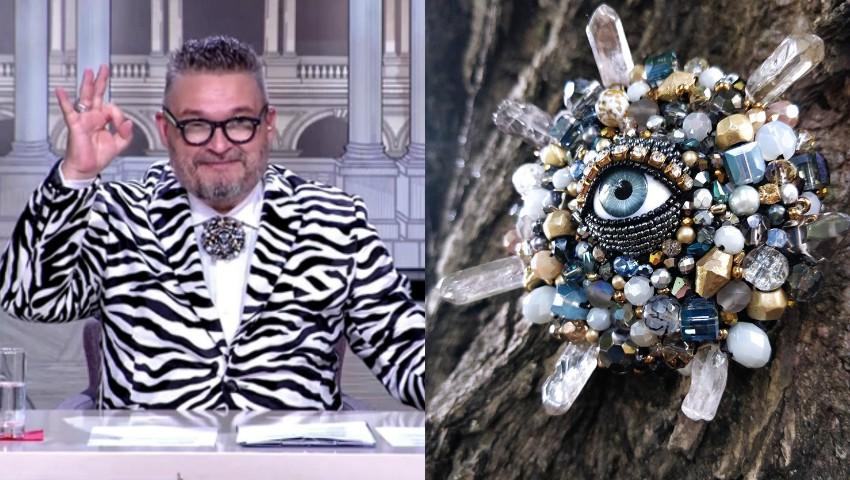 Foto: Celebrul prezentator din Rusia, Alexandr Vassiliev, poartă bijuteria unei moldovence!