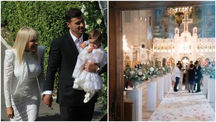 Foto: Elena Udrea și-a botezat fetița, la o mănăstire. Eva Maria a împlinit chiar astăzi un anișor