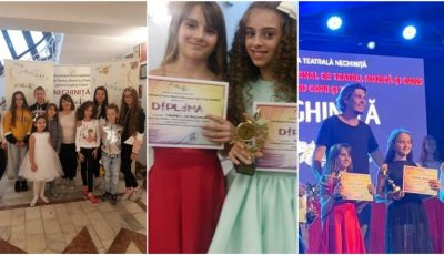 """Mădălina Lungu, eleva Studioului Artistic ,,Rodica Roșioru"""", este câștigătoarea Festivalului Internațional de Muzică și Dans """"Neghinița"""", desfășurat în Bacău, România!"""
