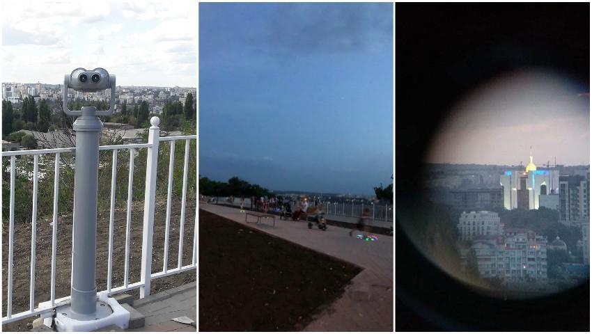 Foto: Foto! Admiră frumusețea orașului Chișinău de la înălțime, prin binoclu