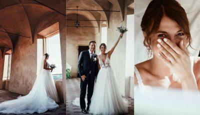 Moldoveanca Cristina Surdu și arhitectul italian Luca Corradi au sărbătorit un an de căsnicie! 10 lucruri curioase despre nunta bloggeriței