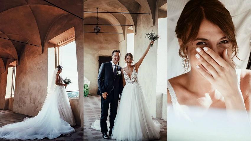 Foto: Moldoveanca Cristina Surdu și arhitectul italian Luca Corradi au sărbătorit un an de căsnicie! 10 lucruri curioase despre nunta bloggeriței