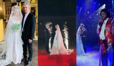 Lacrimi și emoții de milioane la nunta Kseniei Sobchak! (Foto/Video)