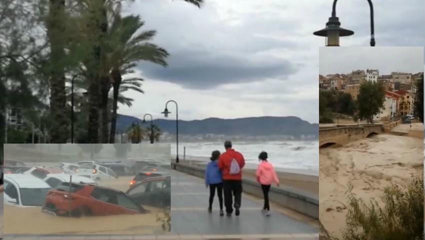 Foto: Spania, sub ape. Așa ceva nu s-a mai văzut de mai bine de 100 de ani