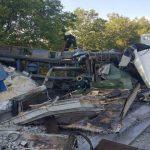 Foto: Accident de groază în raionul Fălești. Foto