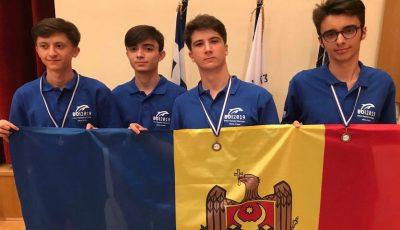 Elevii moldoveni au obținut trei medalii de bronz la Olimpiada Balcanică de Informatică