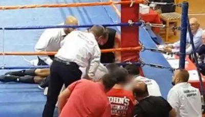 Boxerul Boris Stanchov a murit pe ring, în cadrul unei competiții din Albania