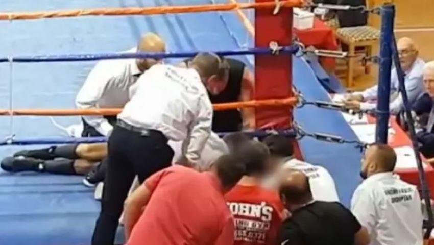 Foto: Boxerul Boris Stanchov a murit pe ring, în cadrul unei competiții din Albania