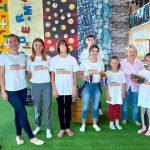 Foto: Copiii de la Centrul de Plasament al Fundației Regina Pacis pledează pentru o lume fără deșeuri din plastic