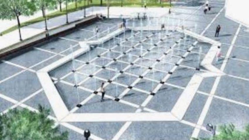 """Foto: Havuzul muzical din parcul ,,Valea Trandafirilor"""" nu mai funcționează"""