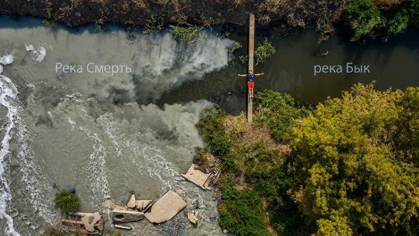 Foto: Internauții cer soluționarea urgentă a problemei râului Bîc și a mirosului insuportabil din Capitală