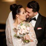 Foto: Imagini emoționante! Interpreta Cătălina Carauș și soțul ei și-au unit destinele
