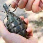 Foto: Un copil a venit cu o grenadă la grădiniță, jucându-se cu ea
