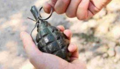 Un copil a venit cu o grenadă la grădiniță, jucându-se cu ea