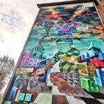 Foto: Uimitor! Cum arată o pictură murală care purifică aerul