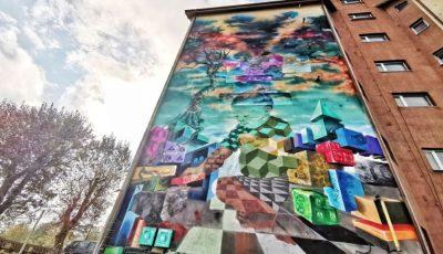Uimitor! Cum arată o pictură murală care purifică aerul