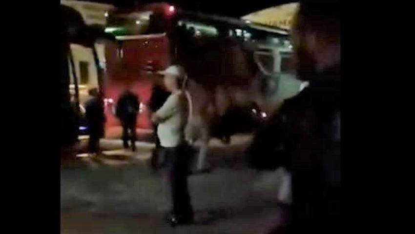 """Foto: Călătorie de groază pentru pasagerii unui autocar de pe cursa Bulgaria-Moldova. Călător: ,,Era cât pe ce să ne răsturnăm de două ori"""""""
