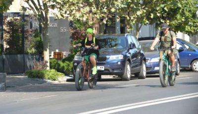 Delia a schimbat bolidul pe o bicicletă profesională