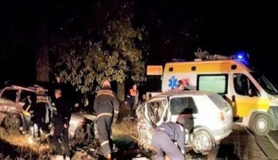 Accident teribil la Edineț: doi oameni au murit, iar alți patru se zbat între viață și moarte