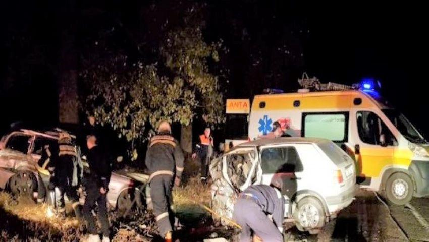 Foto: Accident teribil la Edineț: doi oameni au murit, iar alți patru se zbat între viață și moarte