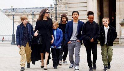 Cum se descurcă Angelina Jolie, o mamă singură cu 6 copii