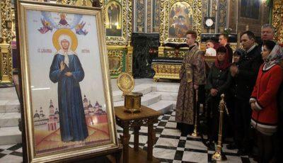 Icoana Sfânta Fericită Matrona din Moscova a fost adusă la Chișinău