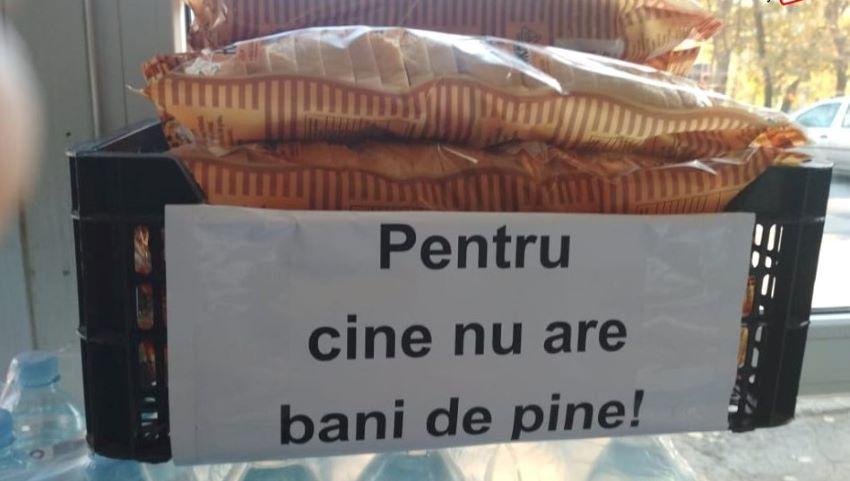 Foto: Gest admirabil într-un magazin din Chișinău!