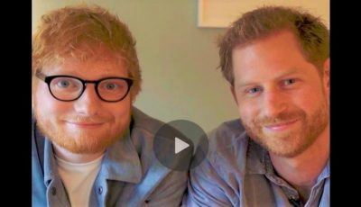 Prințul Harry și Ed Sheeran, doi roșcați apar într-un clip amuzant pentru o cauză nobilă! Video