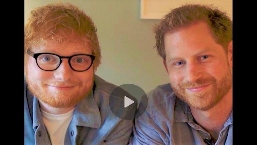 Foto: Prințul Harry și Ed Sheeran, doi roșcați apar într-un clip amuzant pentru o cauză nobilă! Video