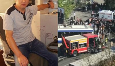 Demn de apreciat. Șoferul troleibuzului implicat în accidentul de la Buiucani a reușit să evite o mare tragedie