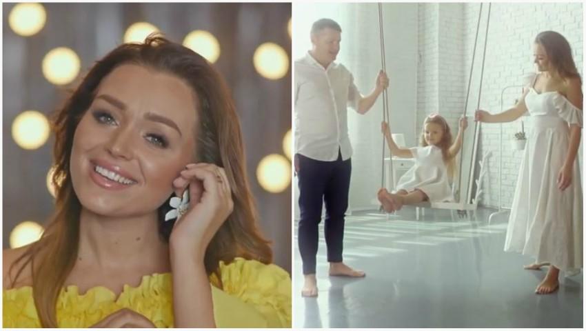 Foto: Cornelia și Marcel Ștefăneț au lansat o melodie dedicată fetiței lor, Alexandra, dar și tuturor părinților din lume!