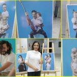 """Foto: Emoționant! Persoanele publice de acasă își manifestă susținerea față de copiii cu Sindromul Down, în expoziția fotografică inedită ,,Suntem diferiți, dar la fel!"""""""