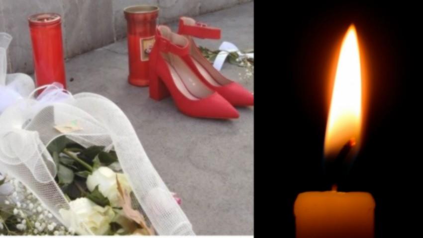 Foto: Moldoveanca de 36 de ani, ucisă de soțul ei, un italian, a fost petrecută pe ultimul drum